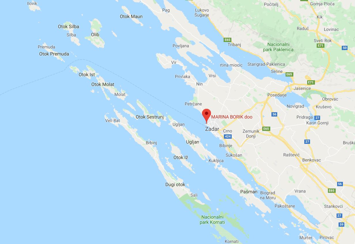Marina Borik in Zadar